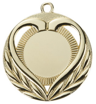 medal ME028 50mm HEART